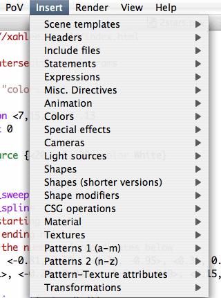 Emacs POV-Ray Mode