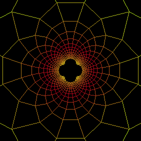 geometric inversion of a grid
