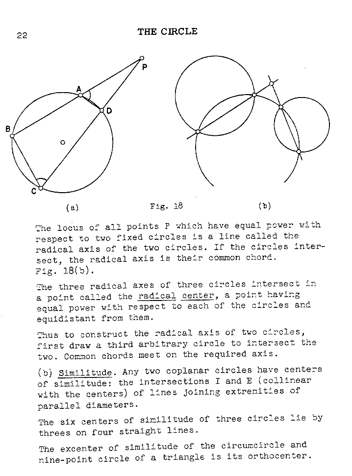 Curves And Their Properties Circle P022