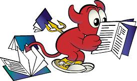 BSD Beastie reading doc