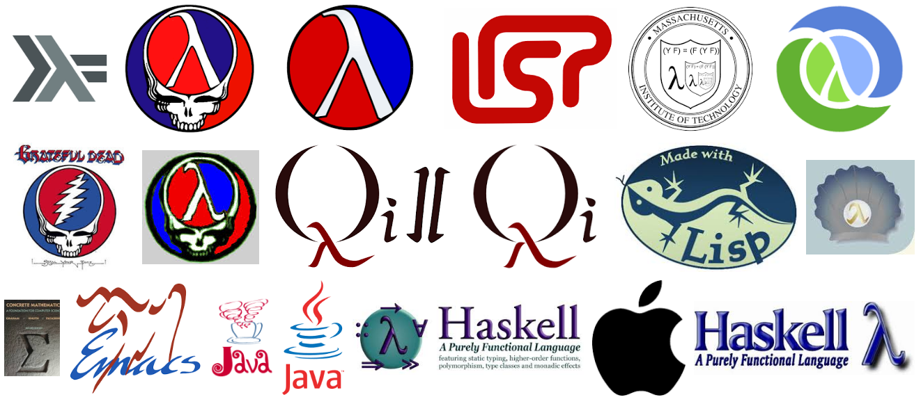 A Lambda Logo Tour And Why Lisp Languages Using As Logo Should