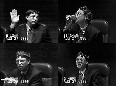 Bill Gates - United States vs Microsoft 1998