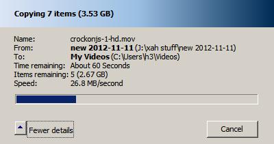 USB3 Drive Speed