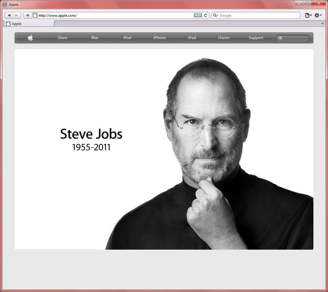 apple dot com Steve Jobs 2011-10-05