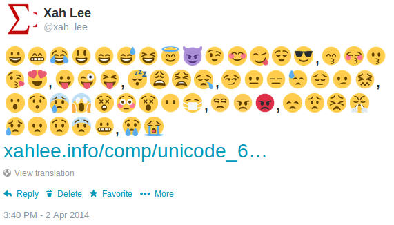 emoticon smiley twitter 2014-04-02