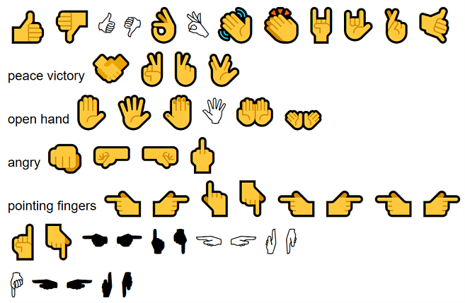 Unicode Screenshots