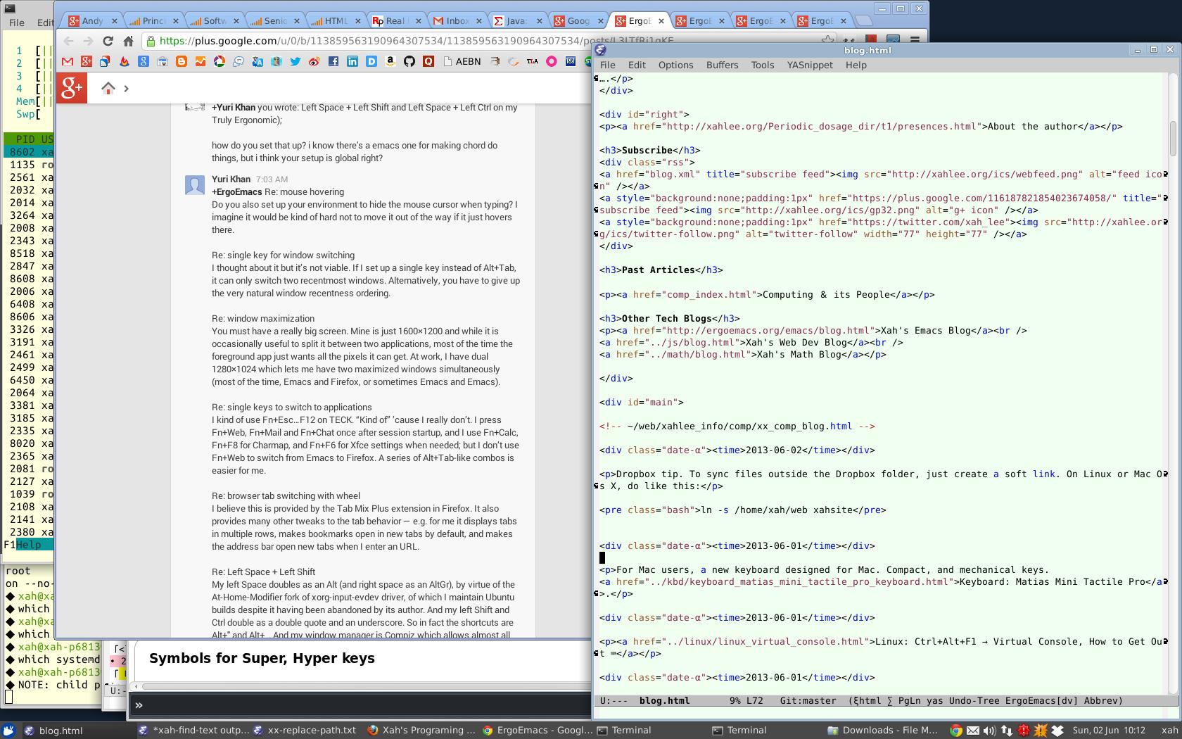 xah linux desktop 2013-06-02
