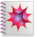 Mathematica 7 notebook icon