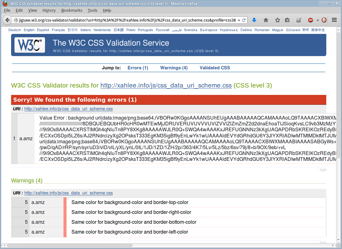 W3c Html Validation Service.html | Autos Weblog