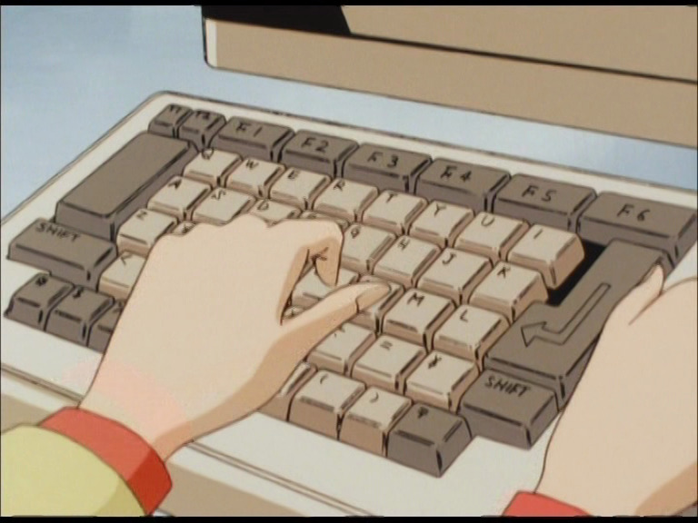 City Hunter keyboard 00008