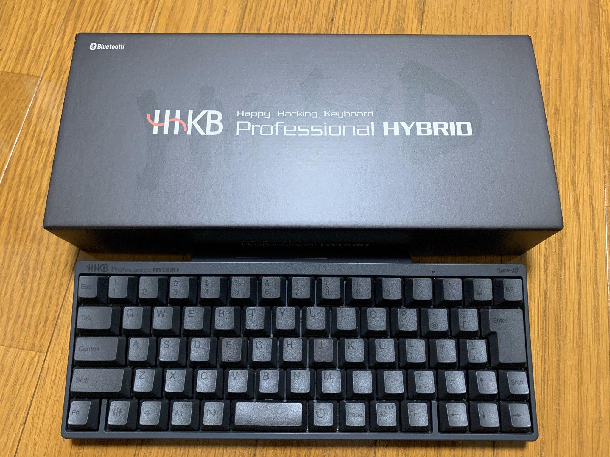 S type Hhkb hybrid