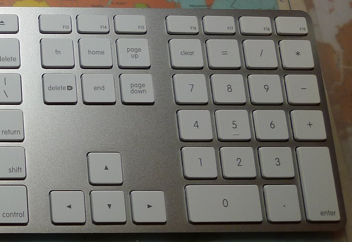 Difference Between Apple and PC keyboards