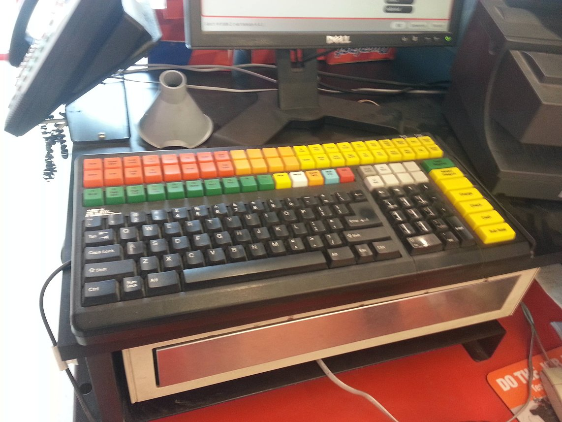 point of sale KSI keyboard 35687