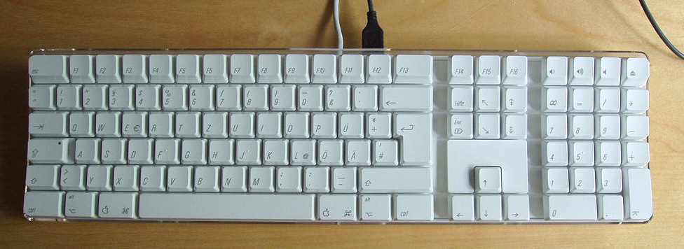 Apple pro keyboard german layout 92684