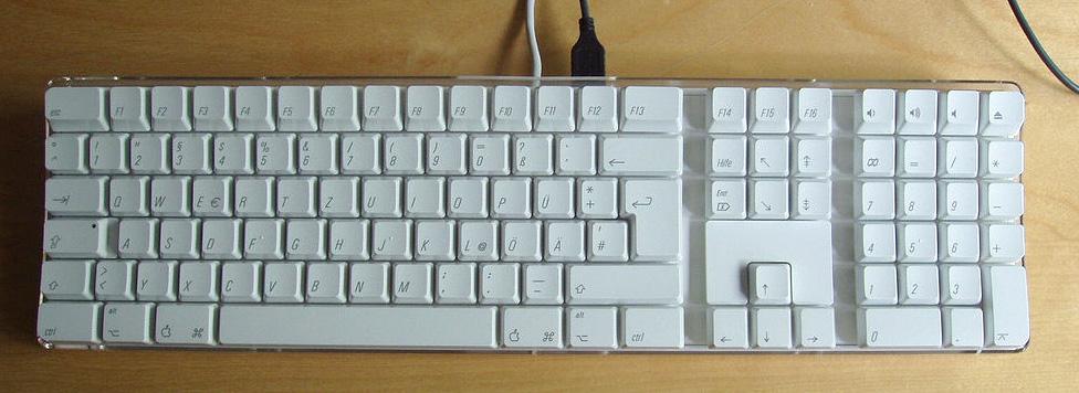 Unicode Keyboard Symbols ⌘ ⏎ ⌫