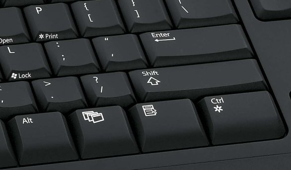 Microsoft digital media keyboard 3000 enter key
