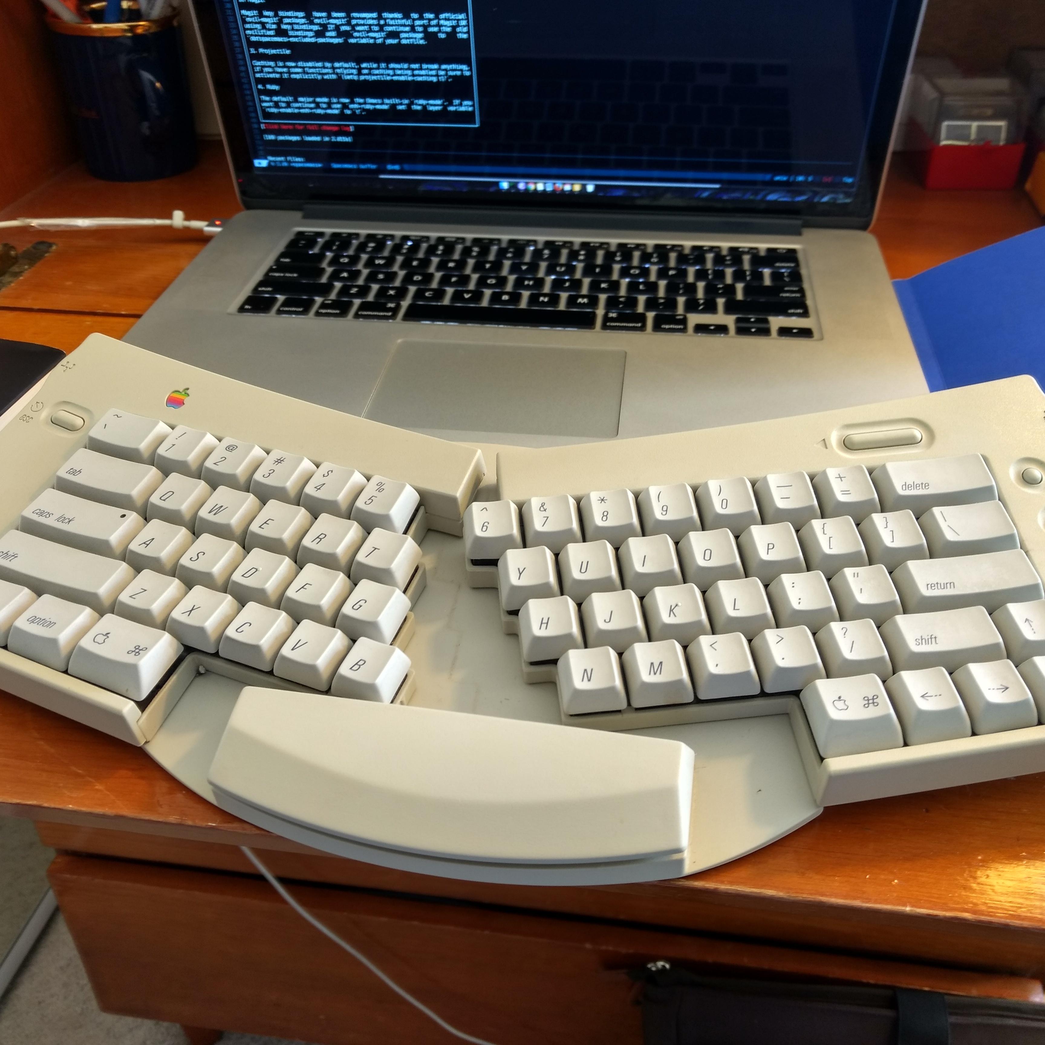 Apple Adjustable Keyboard M