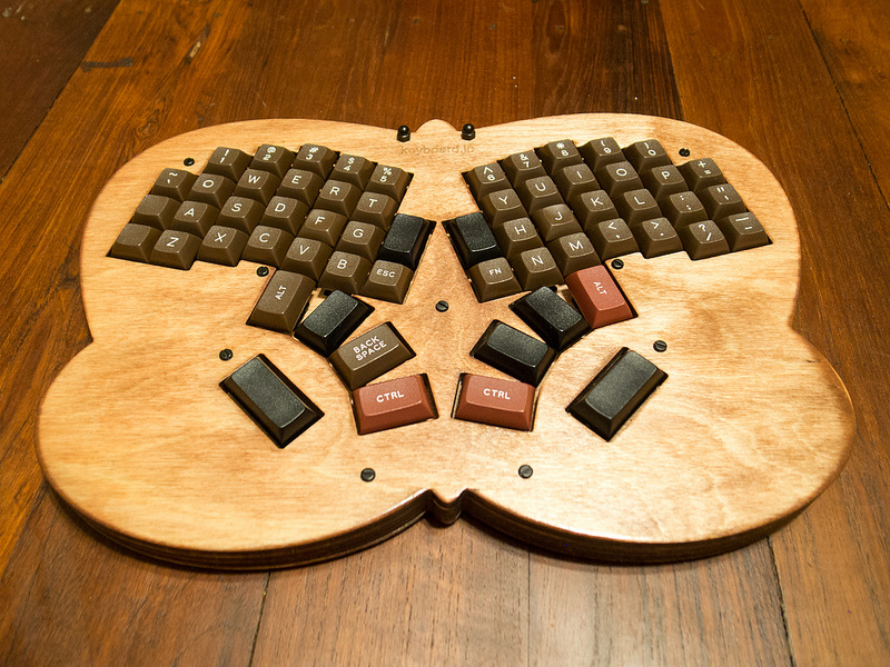 Jesse Vincent butterfly keyboard 2014