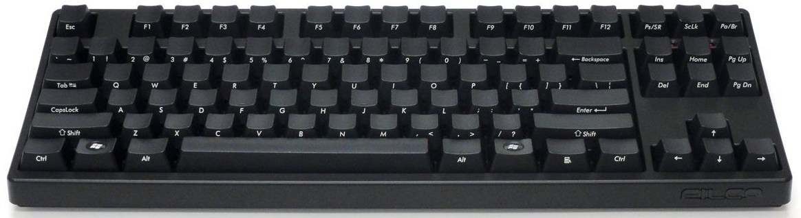 Filco Ninja Majestouch-2 Tenkeyless NKR Linear Action Keyboard FKBN87ML EFB2