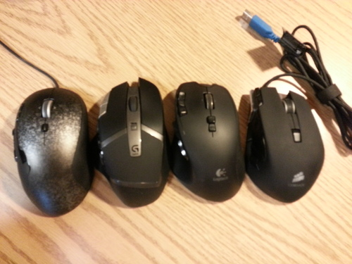 Logitech Gaming Mouses Review