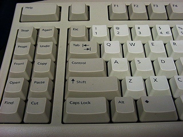 Sun Microsystems Type 6 Keyboard left