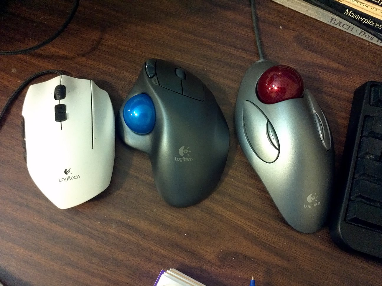 Linux: Set Trackball/Mouse Do Scroll