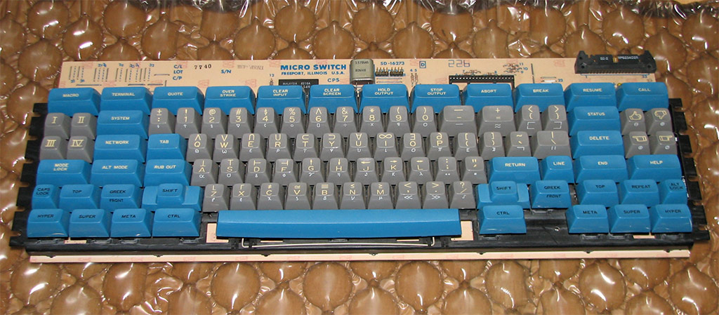 space-cadet keyboard 1