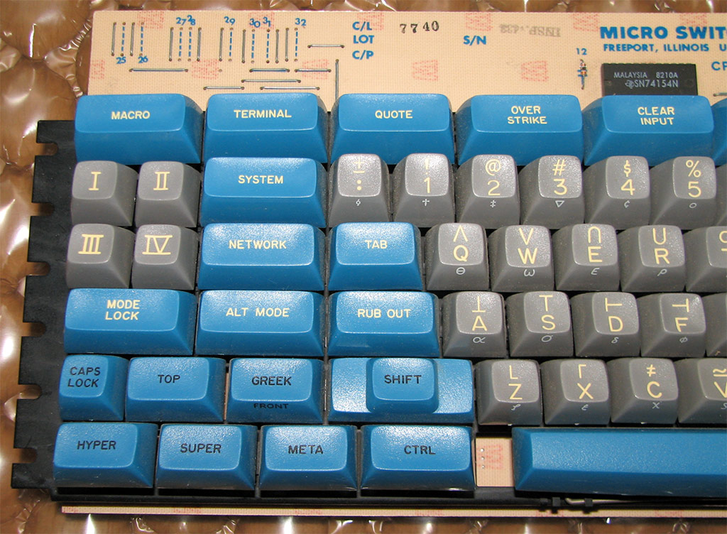 space-cadet keyboard 5