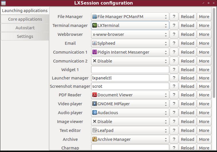 Linux: Set Default App
