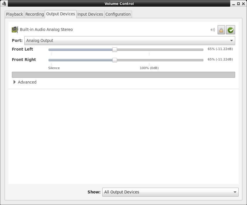 Linux: PulseAudio Control Panel Command Line