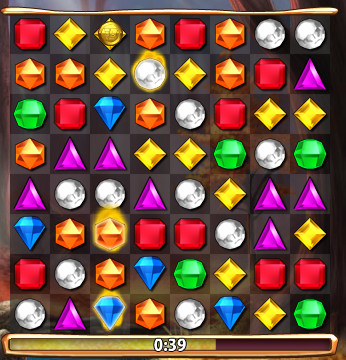 bejeweled flame gem