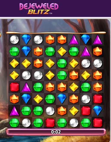 bejeweled optimal move