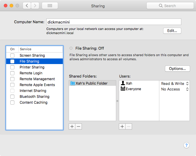 How to Share File Between Mac and Windows
