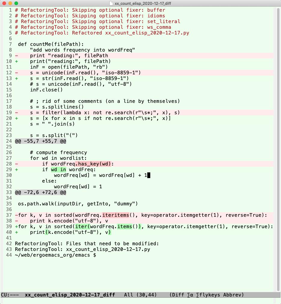 Python 20 and Python 20 Difference